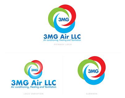 3MG Air Logo Design