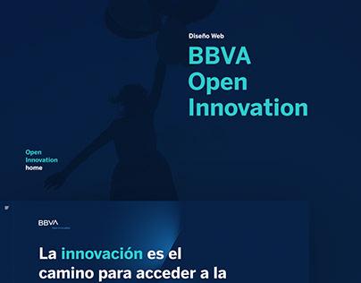 Web Design - BBVA Open Innovation