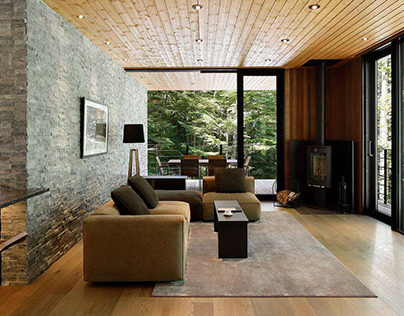 Home in Karuizawa by M's Architects