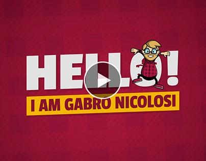 Hello! I am Gabro Nicolosi - Video Portfolio / Showreel