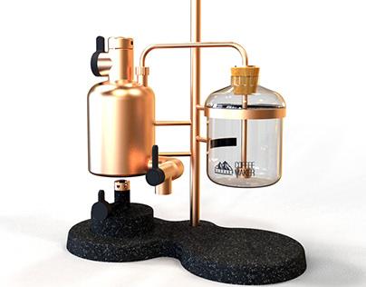 Merbabu Distiller Coffee Maker