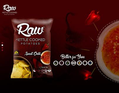 Raw - Web design
