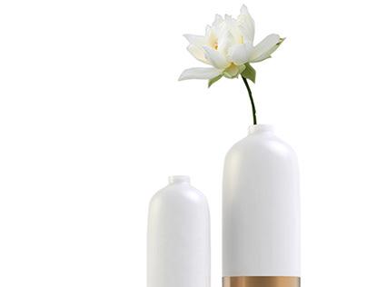 Forever Love Vase I
