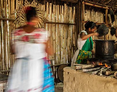 Las Mujeres de Humo del Totonacapan.