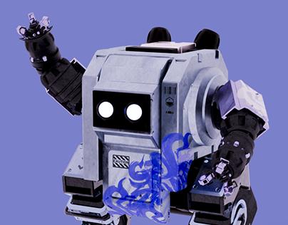 Garbage Bot - 3d practice