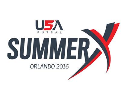 USA Futsal Summer X logo