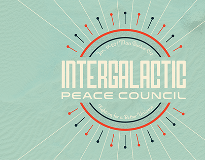 Intergalactic Peace Council • Event Program & Materials