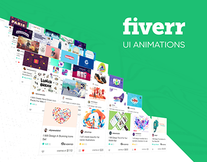 Fiverr UI Animations