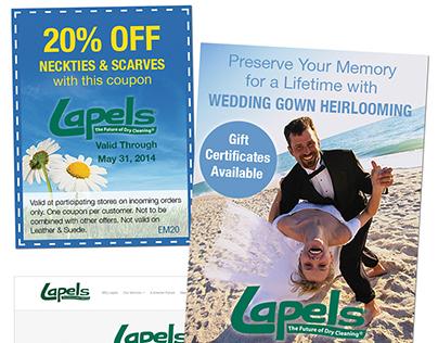 Web Banner Design for Lapels