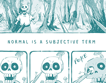 Normal is a subjective term - COMIC