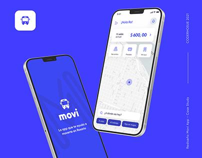 Movi · Ux Ui Redesign · Case Study
