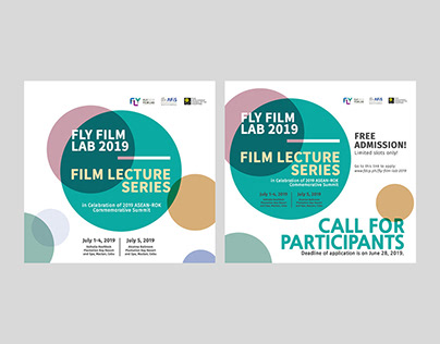 FLY Film Lab 2019 Lecture Series