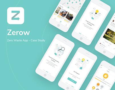Zerow App—UI/UX Case Study
