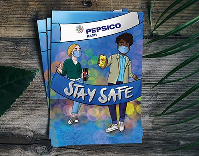 Postkarte für PepsiCo