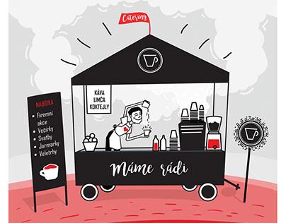Branding design / visual identity - Fofr Kafe
