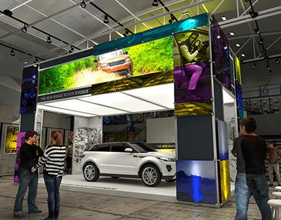 Range Rove Evoque launch in Adidas vibe