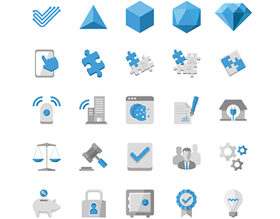 Web Acquisition Icon Set
