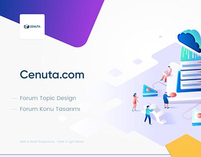 Cenuta Topic Design