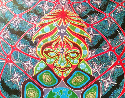 Gaia-Acrylic Painting