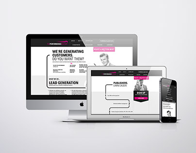 The Performance Factory - Website Design