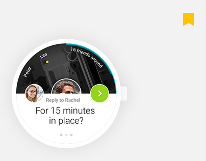 application concept for android wear