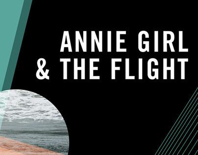 Annie Girl & the Flight Tour Poster Art