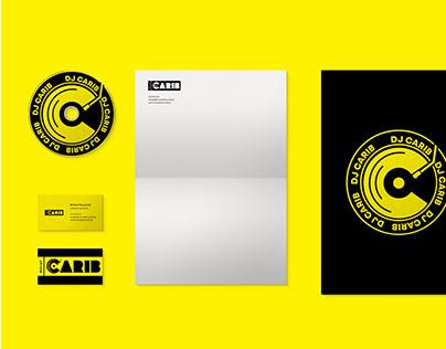 DJ branding( deejay Carib )