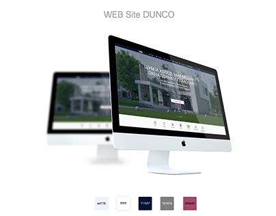 WEB DESIGN SITE DUNCO