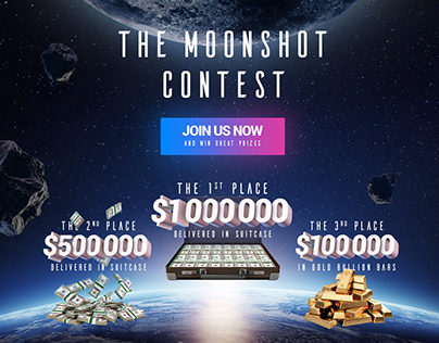 Moonshot. Charity Platform