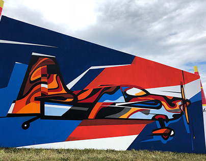 Graffiti master class for Redbullairrace in Kazan