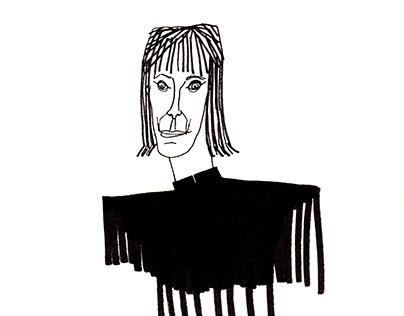Portrait of Nathalie Du Pasquier