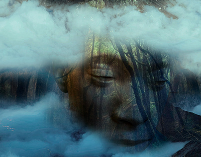 Silent Forest - Digital Art by Andrew Kavanagh