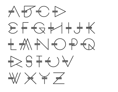 ROMETRIC -geometric font - FREE DOWNLOAD