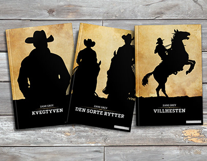 Redesign: Zane Grey book series
