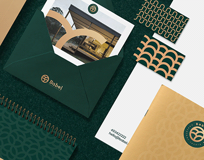 Babel brand design.