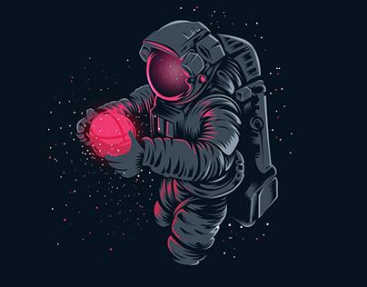 Bribbble in Space