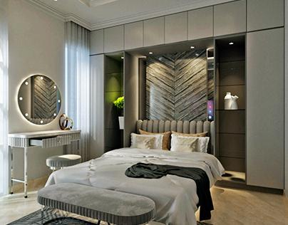 Master Bedroom and Living Room @ Green Lake, Jakarta