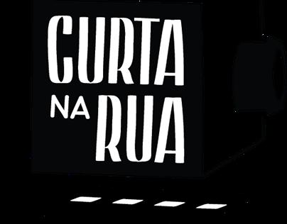 Curta na Rua - Branding and Media feed