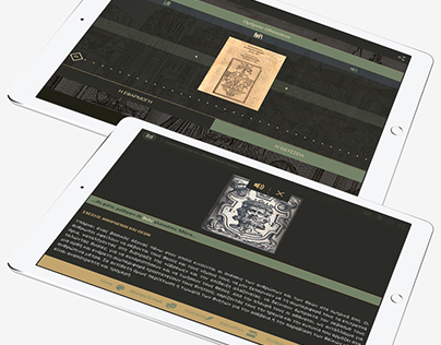 Homer's Odyssey: Application Design