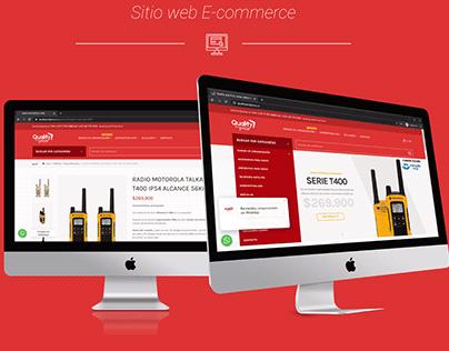 Diseño y programación sitio web Ecommerce - Q&P