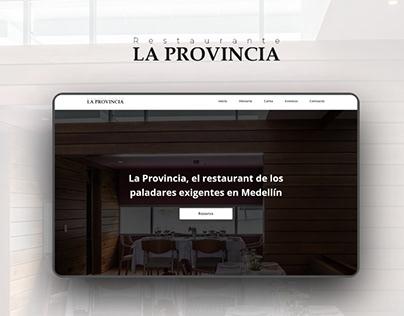UI Design - La provincia