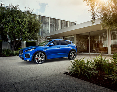 Jaguar E-Pace CGI