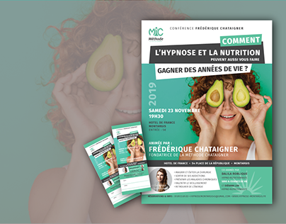 Création flyer & tickets d'entrée