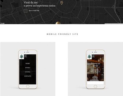 Taverna Moriggi   Web Development & Design