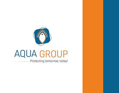 AQUA Group - ( Logo Design&Branding)