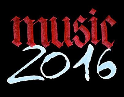 2016 MUSIC