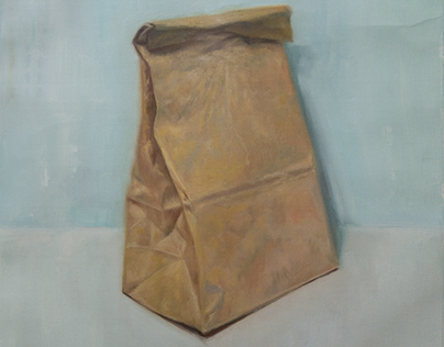 Schrödinger's bubble gum (brown paper bag)