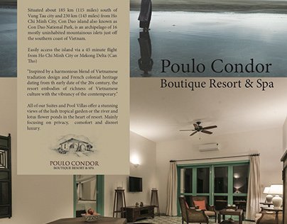 E-newsletter for Poulo Condor Resort