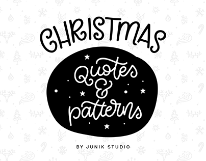 Christmas Quotes & Patterns