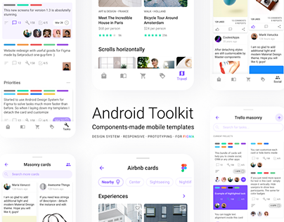 Figma Android material UI kit